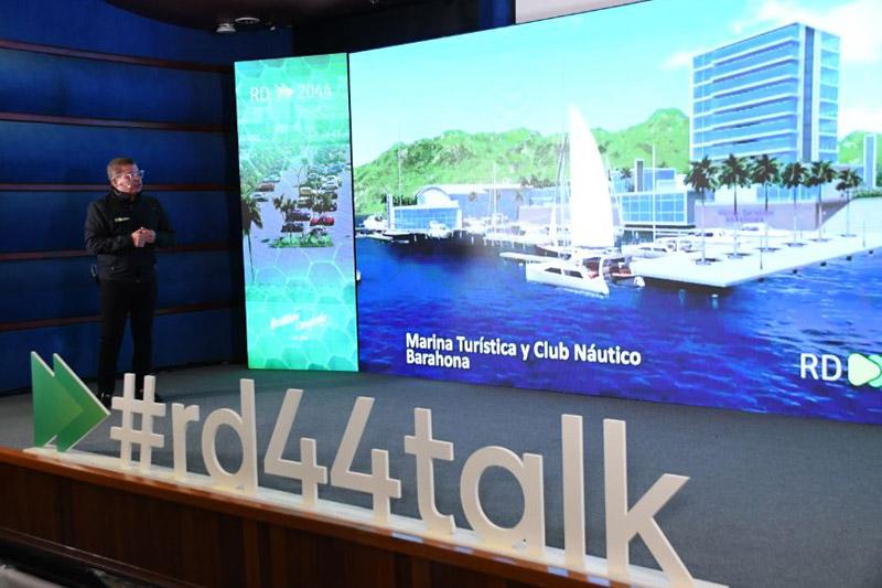 César Fernández: Desde su debut, tanto el expresidente Leonel Fernández como el equipo de RD2044, han presentado y socializado más de 1,500 proyectos
