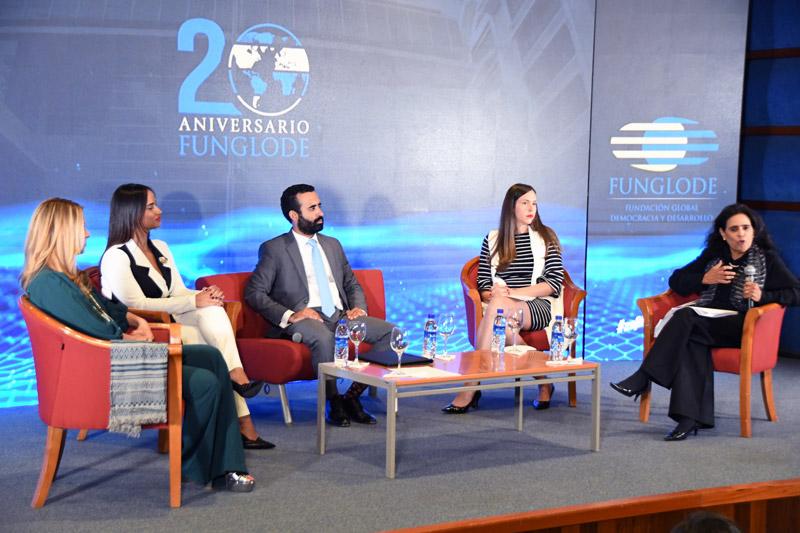 Funglode ha posicionado a la República Dominicana en los grandes escenarios de debates